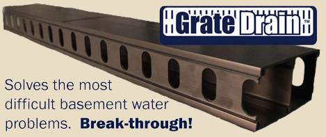 Grate Drain French Drain Waterproofing Systems   Best Of The Best