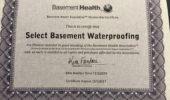 basement health association certified select basement 170x100  Select Basement Waterproofing