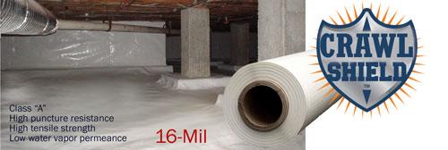 crawlshield CrawlShield Select Basement Waterproofing