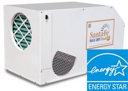 santa fe max dry dual xt Santa Fe Dehumidifiers Select Basement Waterproofing