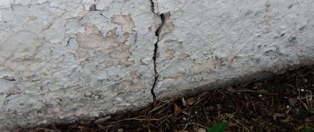 Wall Shrinkage Can Cause Foundation Cracks in Morganville NJ