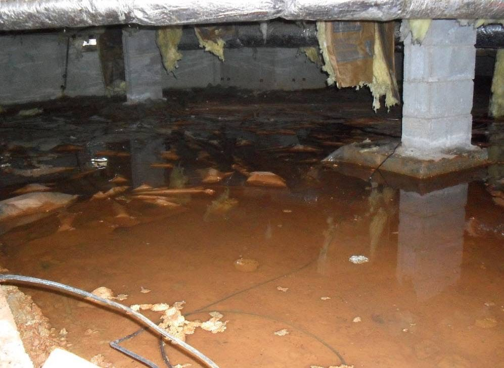An introduction to crawl space drainage in woodbridge nj 07067 for Crawl space house plans