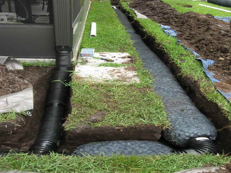 How To Screw Up A French Drain Installation Select
