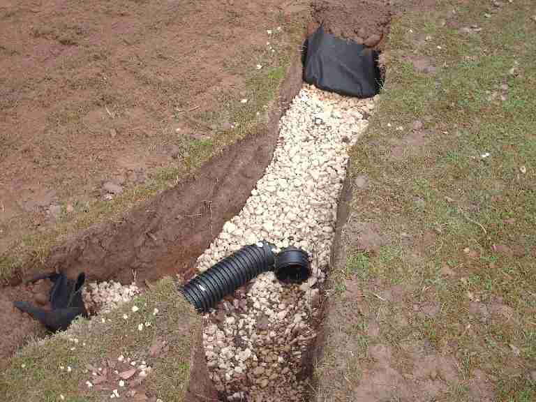 French Drain Installation Select Basement Waterproofing