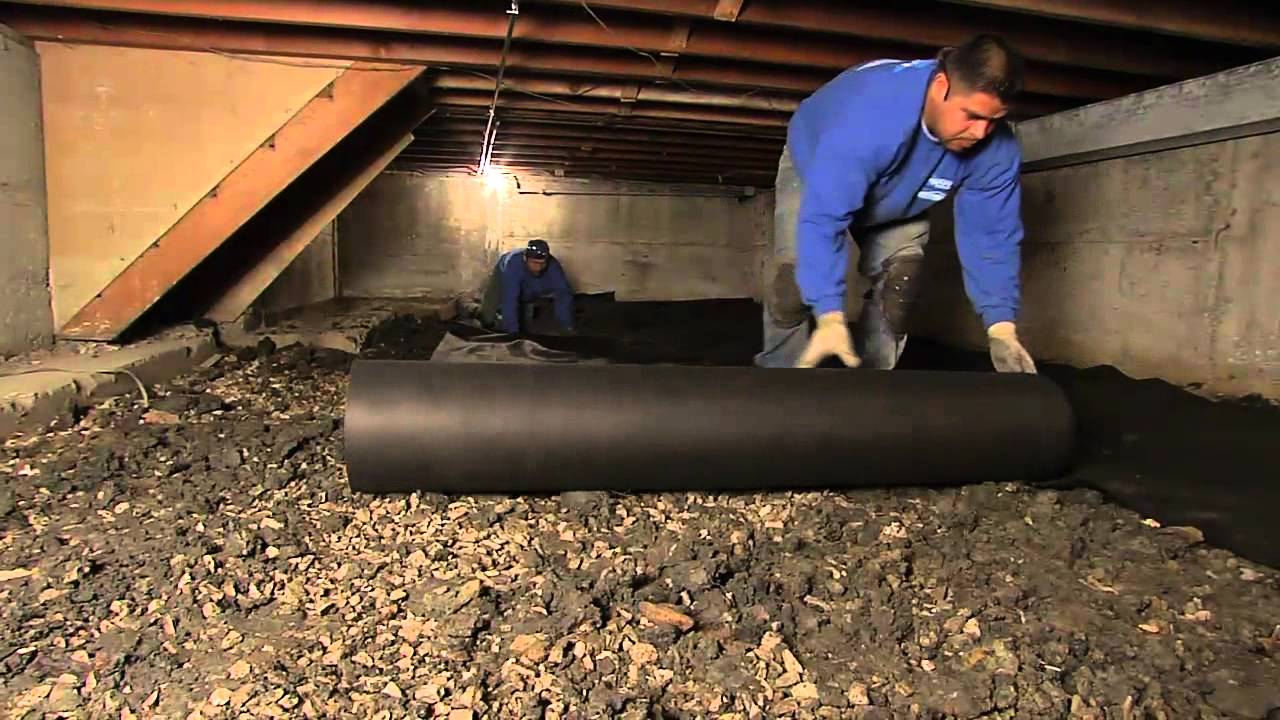 A short guide to crawl space waterproofing in morganville for Crawl basement