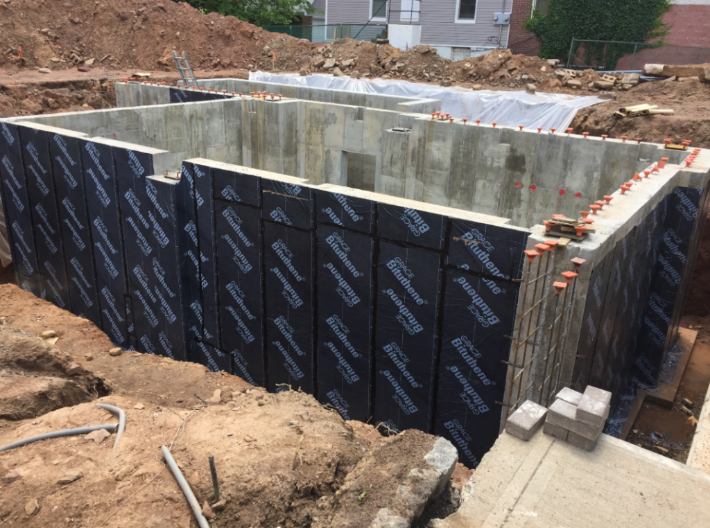 bituthene project 2 1024x762 Bituthene® & Hydroduct® Gallery Select Basement Waterproofing