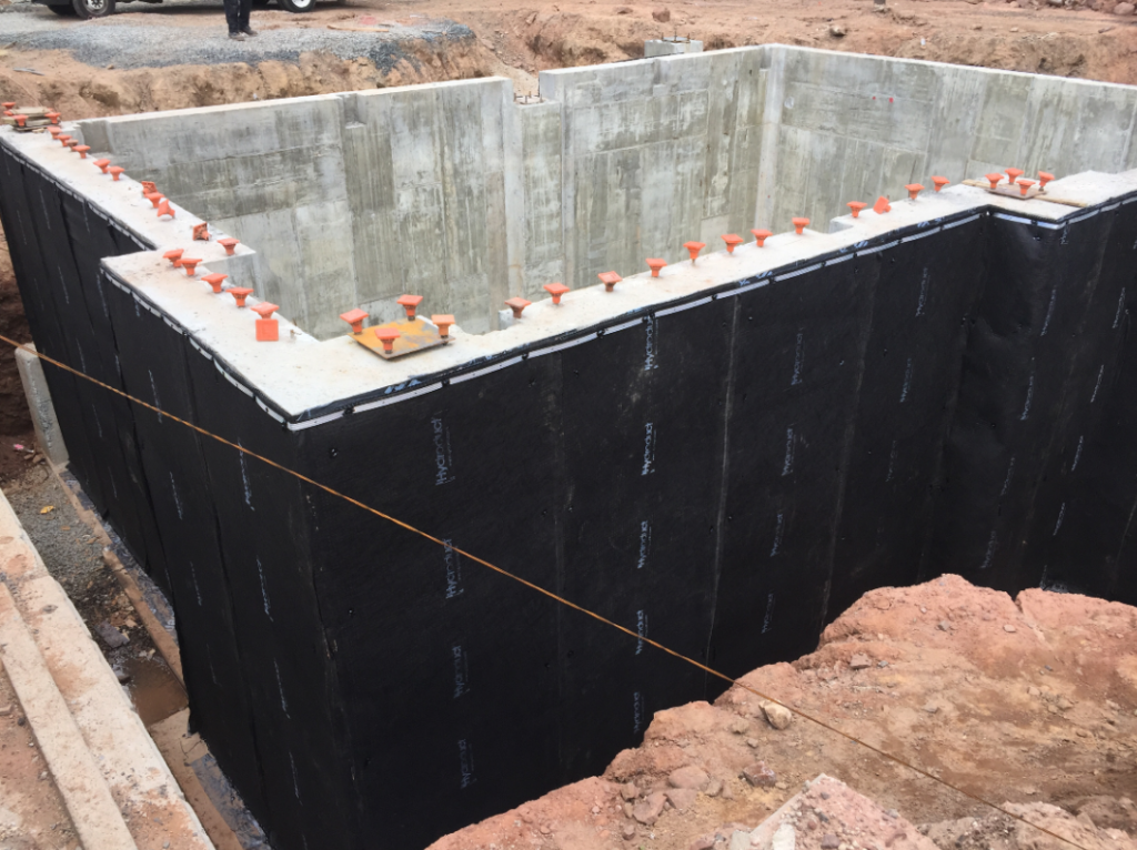 bituthene project 3 1024x766 Bituthene® & Hydroduct® Gallery Select Basement Waterproofing