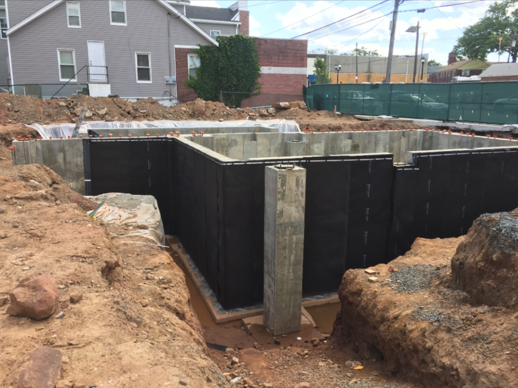 bituthene project 5 1024x768 Bituthene® & Hydroduct® Gallery Select Basement Waterproofing